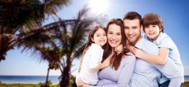 Séjour linguistique anglais pour familles