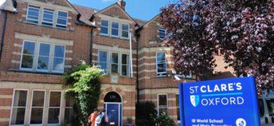 Séjour linguistique à St Clare's Oxford